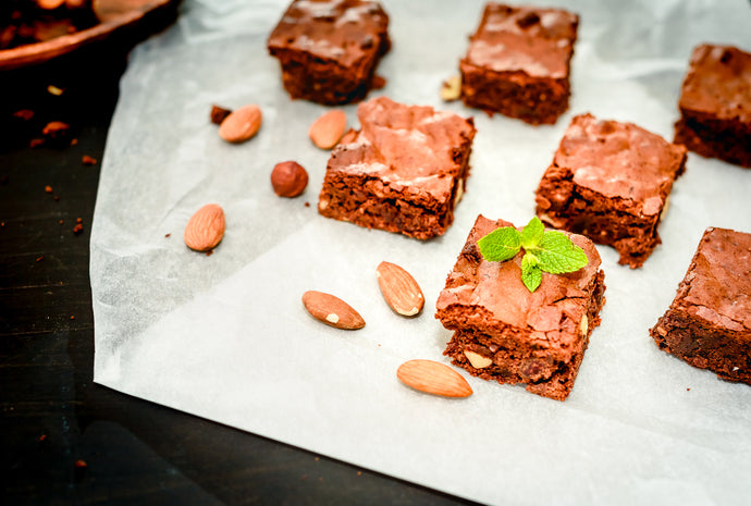 Cocoa Almond Cookie Bar Bake