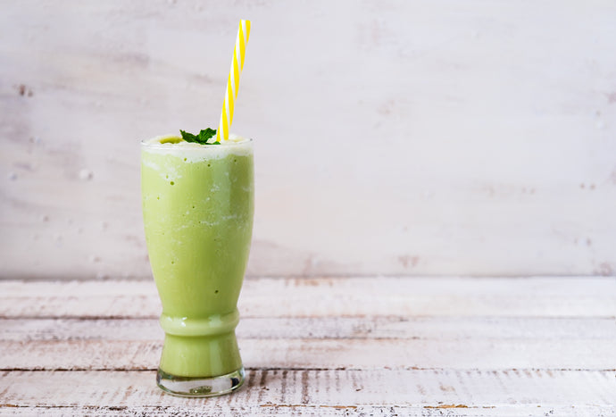 Green Tea Collagen Smoothie