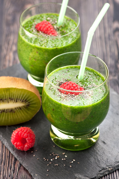 Kiwi Berry Collagen Smoothie