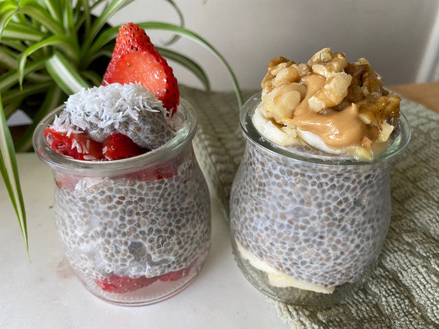 Chia Seed Pudding with a Collagen Boost