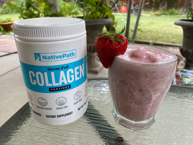 Strawberry Banana Collagen Smoothie