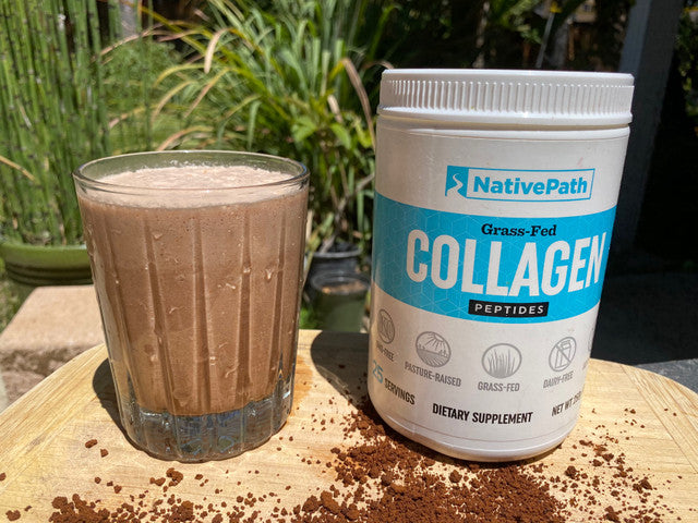 Cocoa-Coffee Protein Smoothie⁠