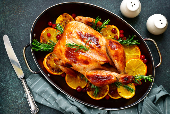 Apple Cider Brine Baked Turkey