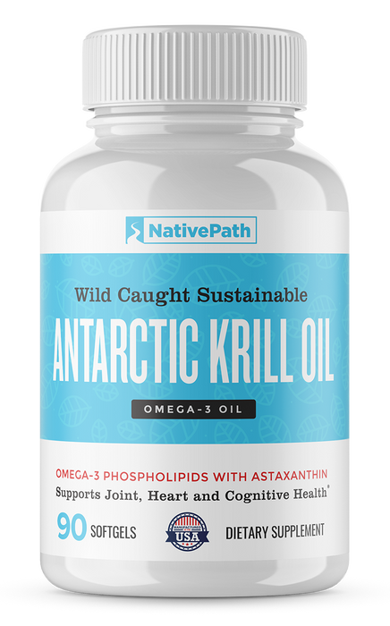 NativePath Antarctic Krill Oil - 90 Day Supply