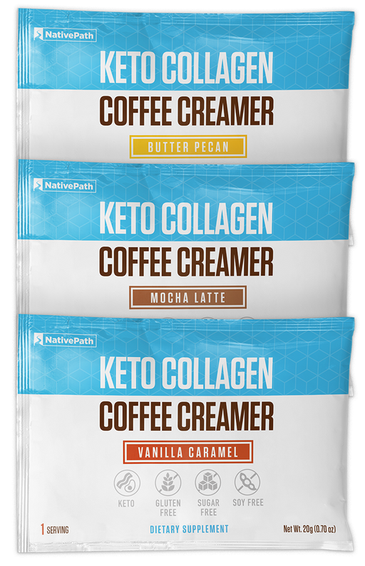 Keto Collagen Coffee Creamer - 3 Packs