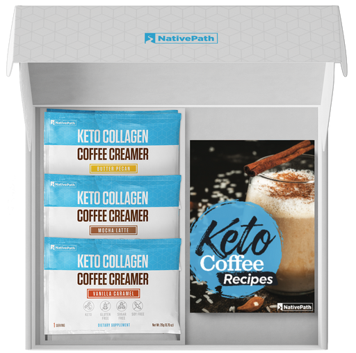 Keto Collagen Coffee Creamer Box