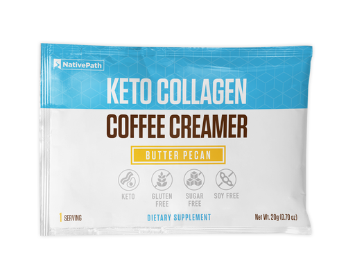 Butter Pecan - Keto Collagen Coffee Creamer
