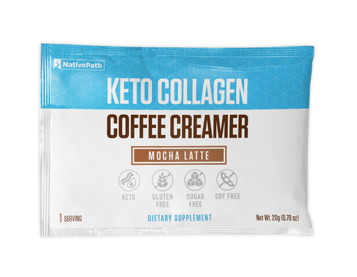 Mocha Latte - Keto Collagen Coffee Creamer