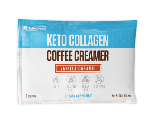 Vanilla Carmel - Keto Collagen Coffee Creamer
