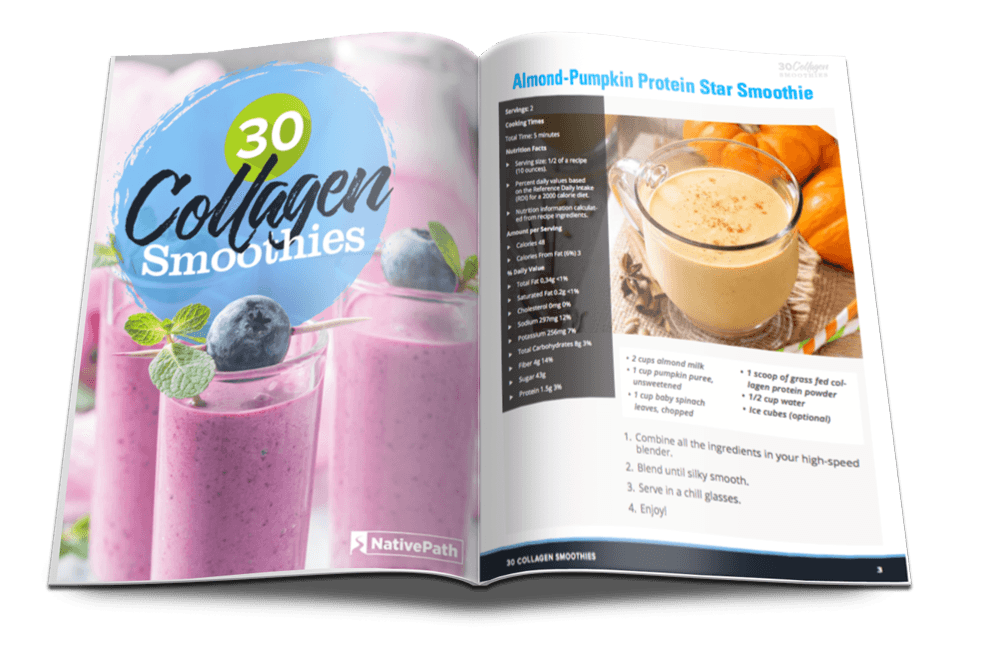 Collagen Smoothie Book