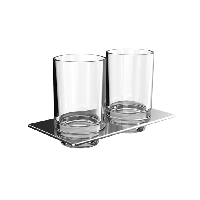 Art Double Glass Holder