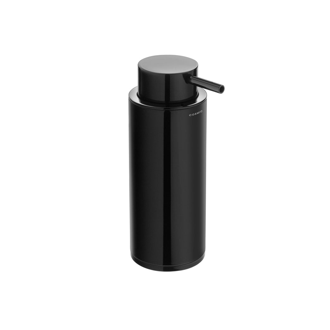 Black & White Freestanding Soap Dispenser