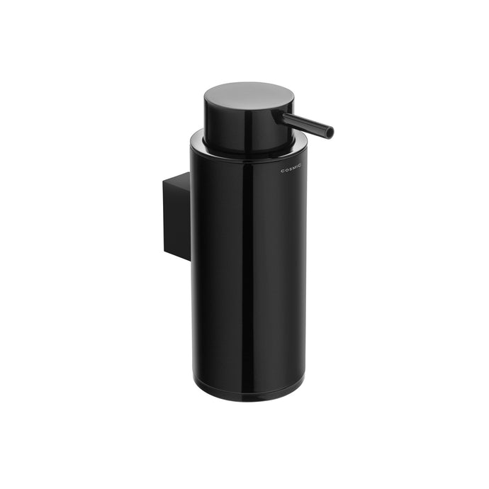 Black & White Wall Mounted Soap Dispenser