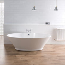 Chalice freestanding bath
