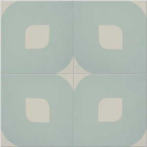 Light Blue Lozenge Tile