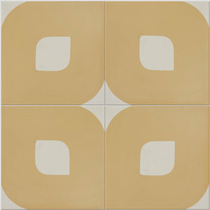 Yellow Lozenge Tile