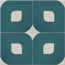 Teal Green Lozenge Tile
