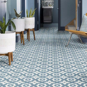 Floris Denim Tile