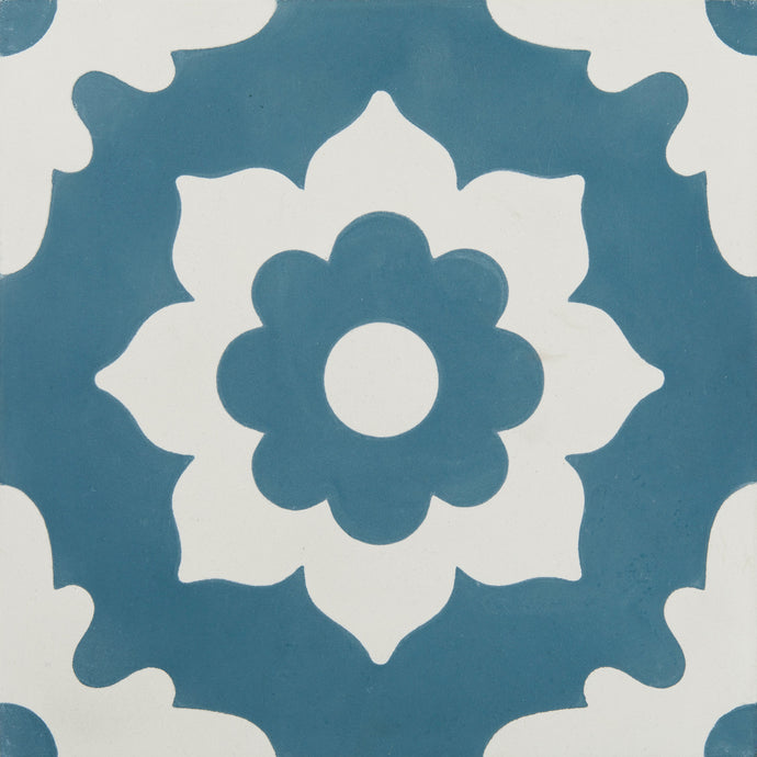 Floris Denim Encaustic