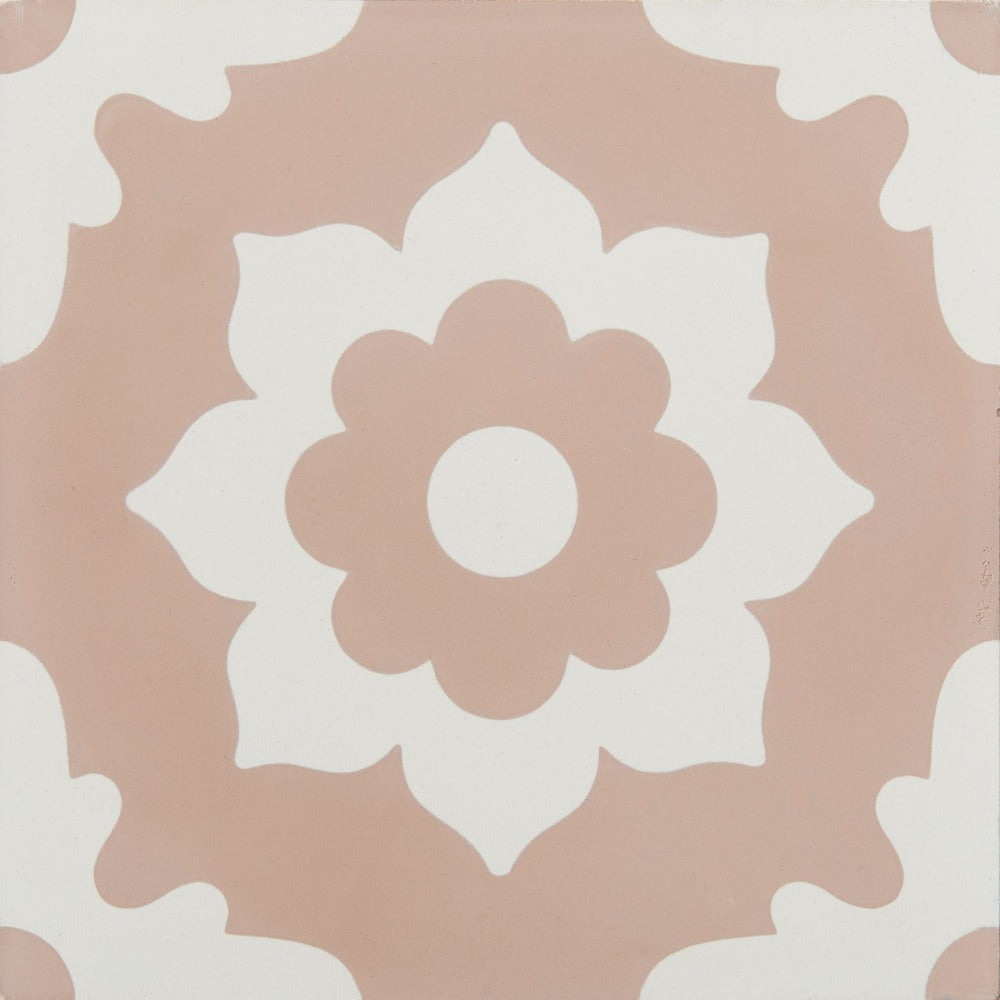 Floris Rose Encaustic