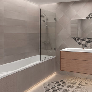 Hinged Bath Shower Screen