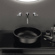 Mya Black Furniture and Basin