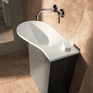 Pli Cloakroom Furniture and Basin