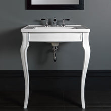 Ripples basin washstand white