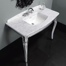 Ripples basin washstand marble