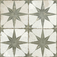 Spitalfields Ceramic Retro Star Tile