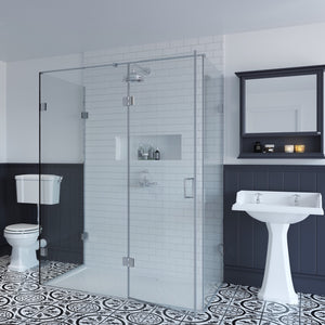 Three Sided Shower Enclosure