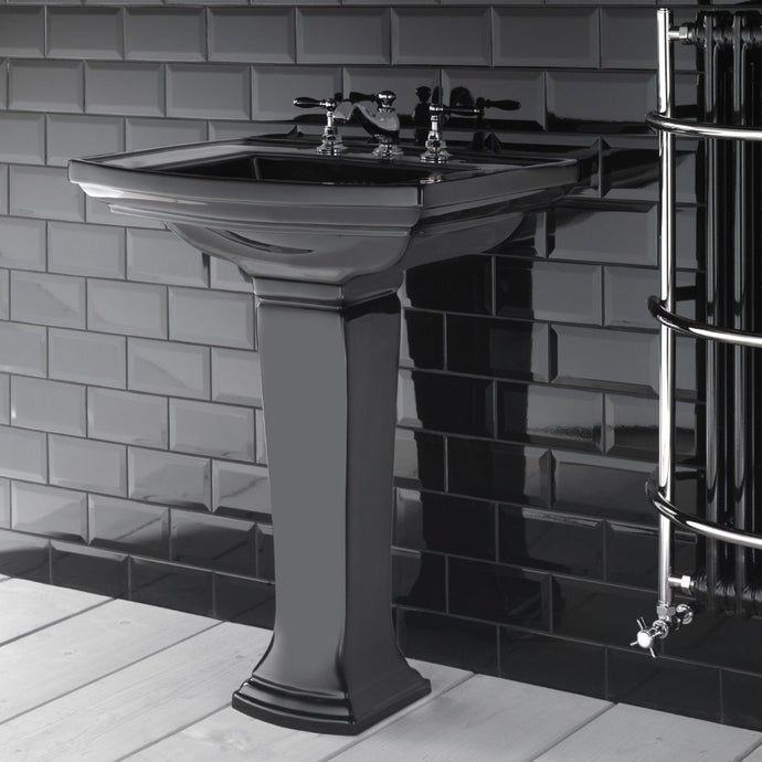 Art Deco Black Basin