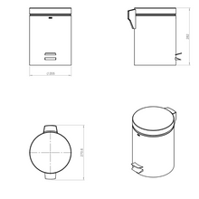 Architect Waste Bin