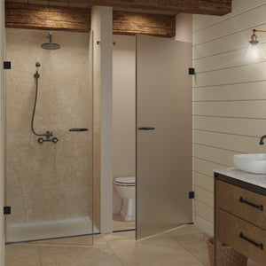 Single Door Shower Recess