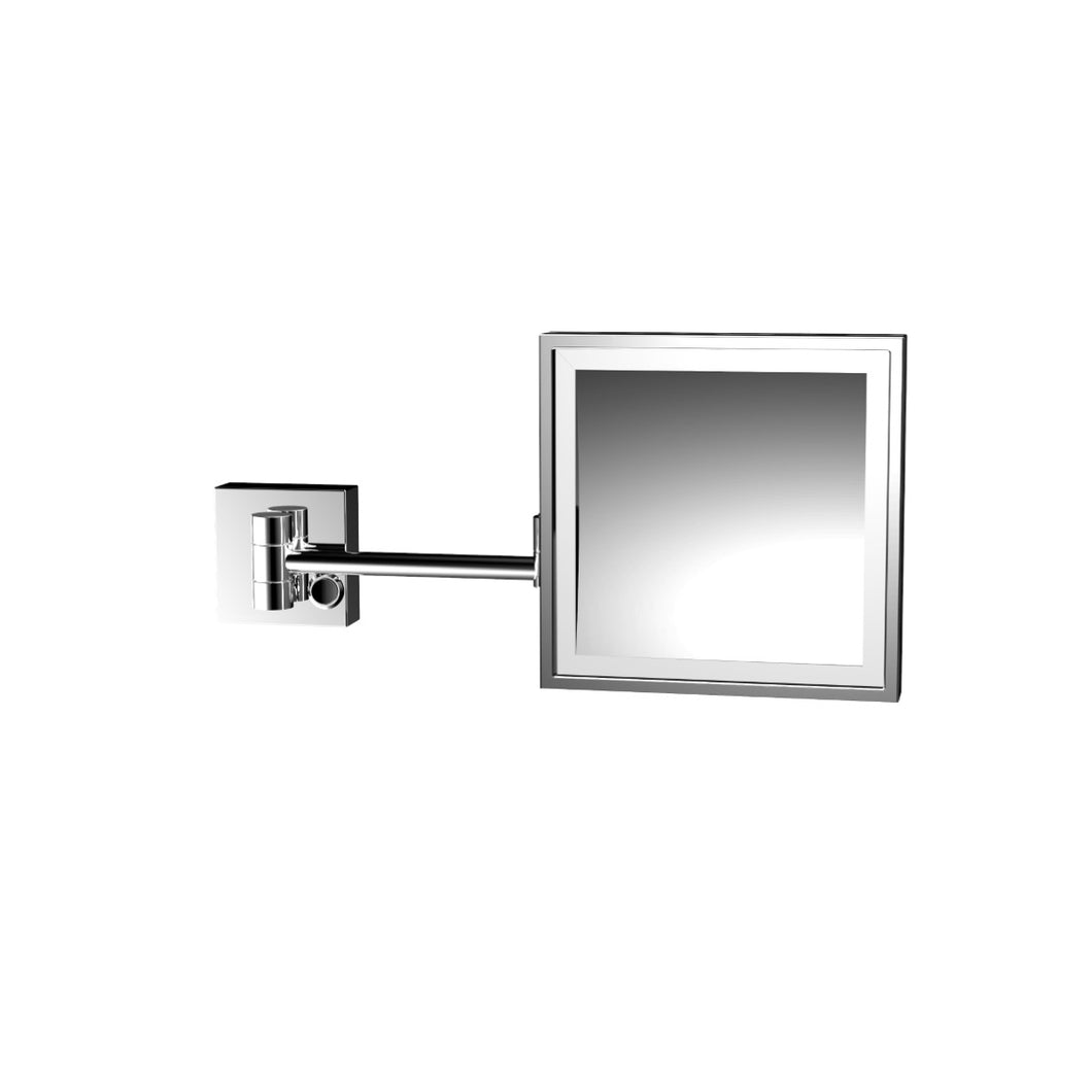 LED Shaving & Cosmetic Mirror Square 119