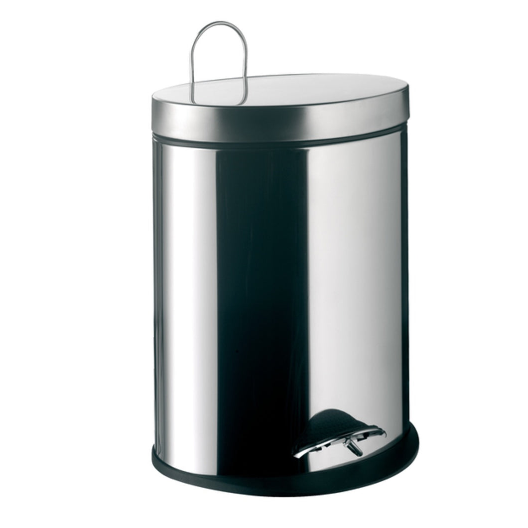 System2 Bathroom Oval Bin With Lid 5L