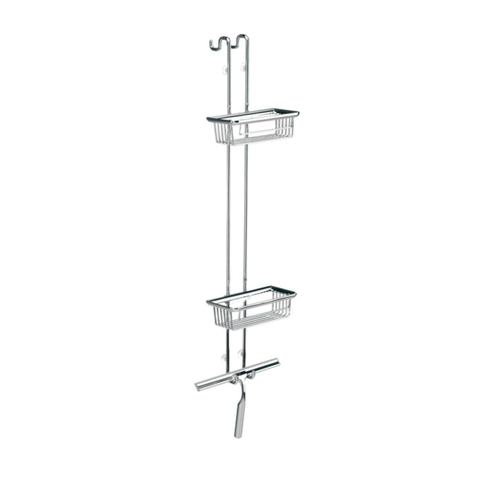 System2 Corner Shower Caddy With Wiper