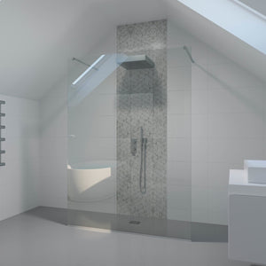 Freestanding Fixed Shower Panel