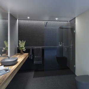 Walk-in Shower With Fixed Panel
