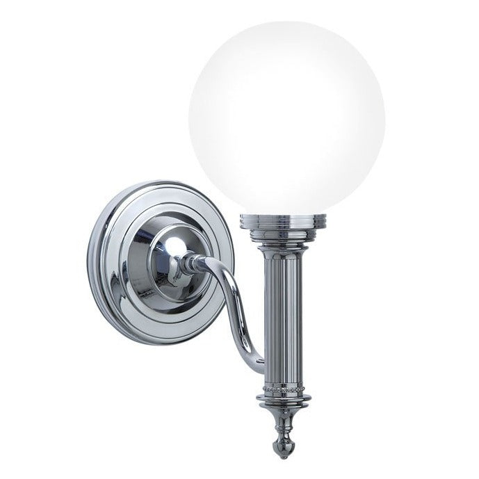 Cadiz Wall Light With Glass Shade