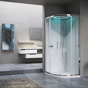 EON Multifunction Quadrant Shower Cubicle