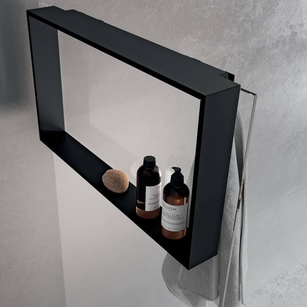 EDGE Internal Shower Shelf and Hook
