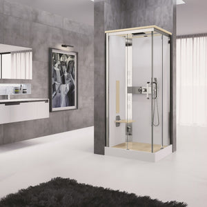 Luxury Steam Shower Corner