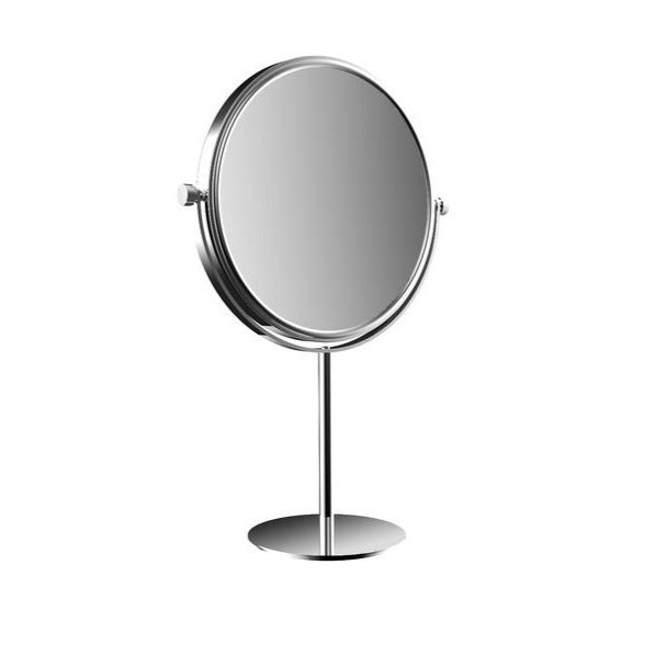 Freestanding Round Mirror
