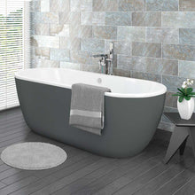Grey Freestanding Bath