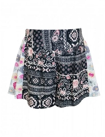 Black & Pink Party Shorts