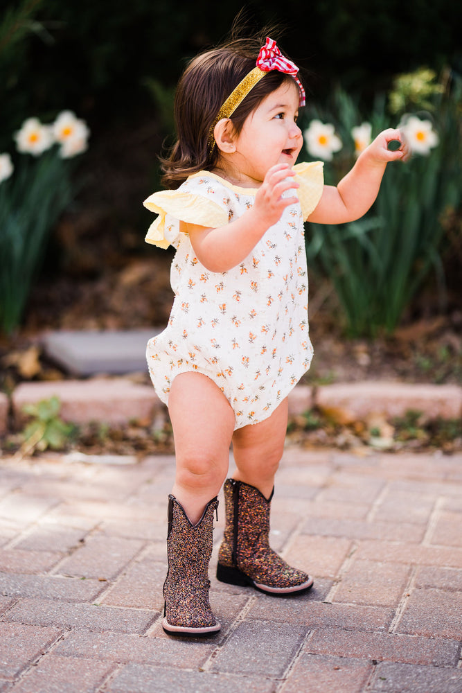 Sunflower Sunsuit