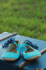 Baby Blue Suede Shoes