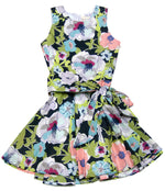 The Southern Belle Dress- Cabbage Print