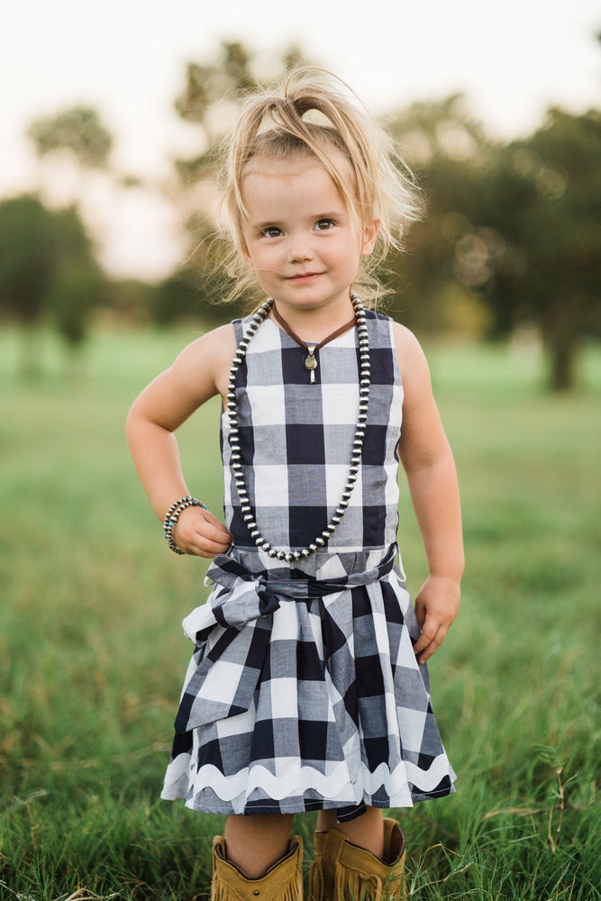 Navy Belle Dress